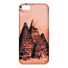Pyramid Egypt Monumental Apple Iphone 5c Hardshell Case by Sapixe