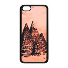 Pyramid Egypt Monumental Apple Iphone 5c Seamless Case (black) by Sapixe