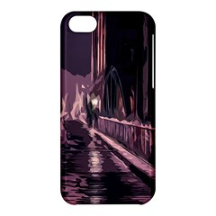 Texture Abstract Background City Apple Iphone 5c Hardshell Case