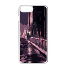 Texture Abstract Background City Apple Iphone 7 Plus Seamless Case (white)