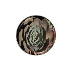 Succulent Green Pink Rosettes Hat Clip Ball Marker (10 Pack) by Sapixe