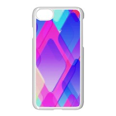 Squares Color Squares Background Apple Iphone 7 Seamless Case (white)