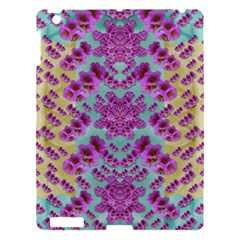 Climbing And Loving Beautiful Flowers Of Fantasy Floral Apple Ipad 3/4 Hardshell Case by pepitasart