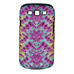 Climbing And Loving Beautiful Flowers Of Fantasy Floral Samsung Galaxy S Iii Classic Hardshell Case (pc+silicone) by pepitasart