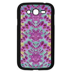 Climbing And Loving Beautiful Flowers Of Fantasy Floral Samsung Galaxy Grand Duos I9082 Case (black) by pepitasart