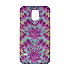 Climbing And Loving Beautiful Flowers Of Fantasy Floral Samsung Galaxy S5 Hardshell Case  by pepitasart