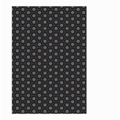 Geometric Pattern Dark Small Garden Flag (two Sides)