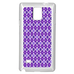 Jess Violet Samsung Galaxy Note 4 Case (white) by jumpercat