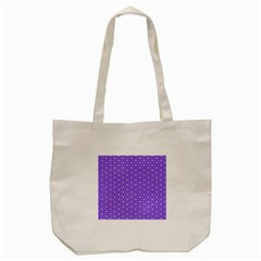 Lavender Tiles Tote Bag (cream)