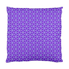 Lavender Tiles Standard Cushion Case (one Side) by jumpercat