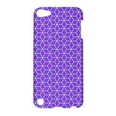 Lavender Tiles Apple Ipod Touch 5 Hardshell Case by jumpercat