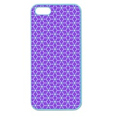 Lavender Tiles Apple Seamless Iphone 5 Case (color) by jumpercat