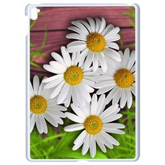 Flowers Flower Background Design Apple Ipad Pro 9 7   White Seamless Case