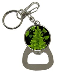 Decoration Green Black Background Bottle Opener Key Chains by Sapixe