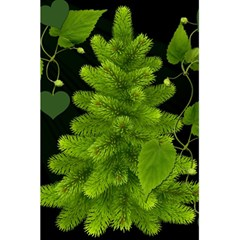 Decoration Green Black Background 5 5  X 8 5  Notebooks by Sapixe