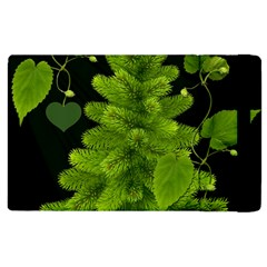 Decoration Green Black Background Apple Ipad 3/4 Flip Case by Sapixe