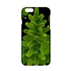 Decoration Green Black Background Apple Iphone 6/6s Hardshell Case by Sapixe
