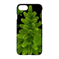Decoration Green Black Background Apple Iphone 7 Hardshell Case by Sapixe