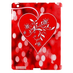 Love Romantic Greeting Celebration Apple Ipad 3/4 Hardshell Case (compatible With Smart Cover) by Sapixe