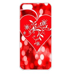 Love Romantic Greeting Celebration Apple Iphone 5 Seamless Case (white)