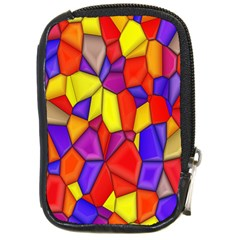 Mosaic Tiles Pattern Texture Compact Camera Cases by Sapixe
