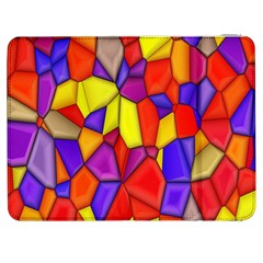 Mosaic Tiles Pattern Texture Samsung Galaxy Tab 7  P1000 Flip Case by Sapixe