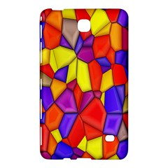 Mosaic Tiles Pattern Texture Samsung Galaxy Tab 4 (8 ) Hardshell Case  by Sapixe