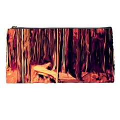 Forest Autumn Trees Trail Road Pencil Cases by Sapixe