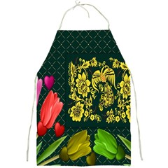 Background Reason Tulips Colors Full Print Aprons