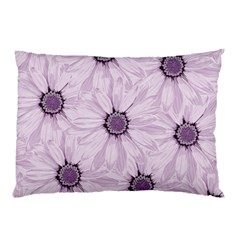 Background Desktop Flowers Lilac Pillow Case by Sapixe