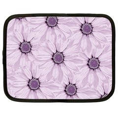 Background Desktop Flowers Lilac Netbook Case (xxl)  by Sapixe