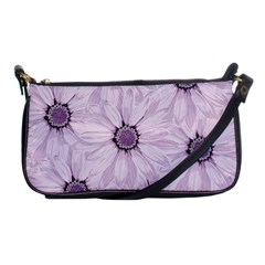 Background Desktop Flowers Lilac Shoulder Clutch Bags by Sapixe