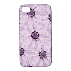 Background Desktop Flowers Lilac Apple Iphone 4/4s Hardshell Case With Stand by Sapixe