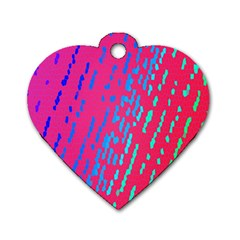 Background Desktop Mosaic Raspberry Dog Tag Heart (one Side) by Sapixe