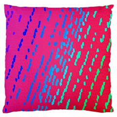 Background Desktop Mosaic Raspberry Large Cushion Case (one Side) by Sapixe