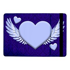 Background Texture Heart Wings Samsung Galaxy Tab Pro 10 1  Flip Case by Sapixe