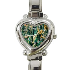 Porch Door Stairs House Heart Italian Charm Watch by Sapixe