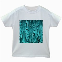 Design Backdrop Abstract Wallpaper Kids White T-shirts