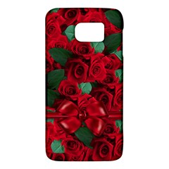 Floral Flower Pattern Art Roses Galaxy S6