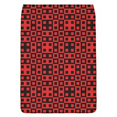 Abstract Background Red Black Flap Covers (l)
