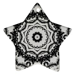 Abstract Pattern Fractal Ornament (star) by Sapixe