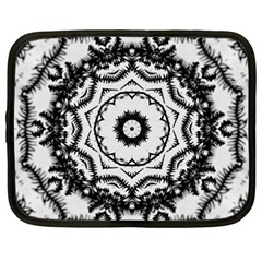 Abstract Pattern Fractal Netbook Case (xxl)  by Sapixe