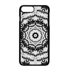Abstract Pattern Fractal Apple Iphone 8 Plus Seamless Case (black)