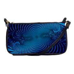 Background Brush Particles Wave Shoulder Clutch Bags by Sapixe