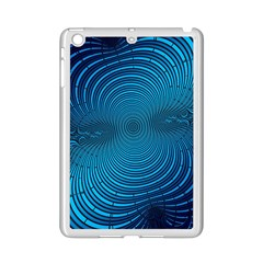 Background Brush Particles Wave Ipad Mini 2 Enamel Coated Cases by Sapixe