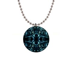 Abstract Fractal Magical Button Necklaces by Sapixe