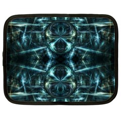 Abstract Fractal Magical Netbook Case (large) by Sapixe