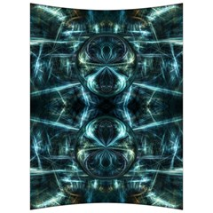 Abstract Fractal Magical Back Support Cushion by Sapixe