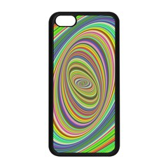 Ellipse Background Elliptical Apple Iphone 5c Seamless Case (black) by Sapixe