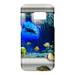 Dolphin Art Creation Natural Water Samsung Galaxy S7 Hardshell Case